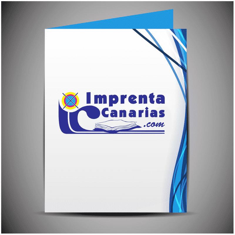 Carpetas con solapa – Carpetas sin solapas :: Imprenta Canarias