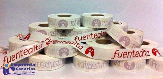 Cintas de Balizamiento Personalizada de Imprenta Canarias