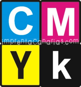 CMYK imprenta Canarias Tenerife