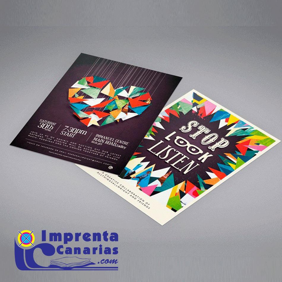 Flyers en Tenerife :: Imprenta Canarias