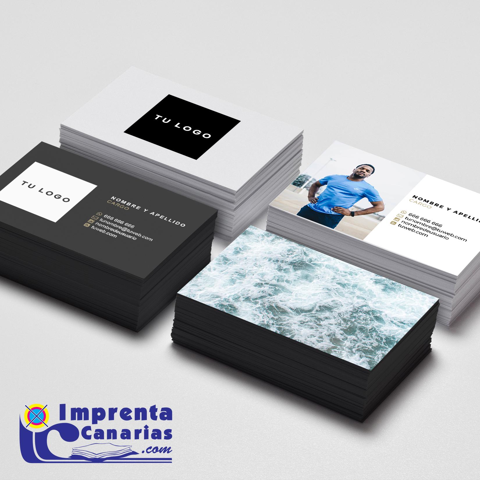 Tarjetas baratas en Canarias :: Imprenta Canarias